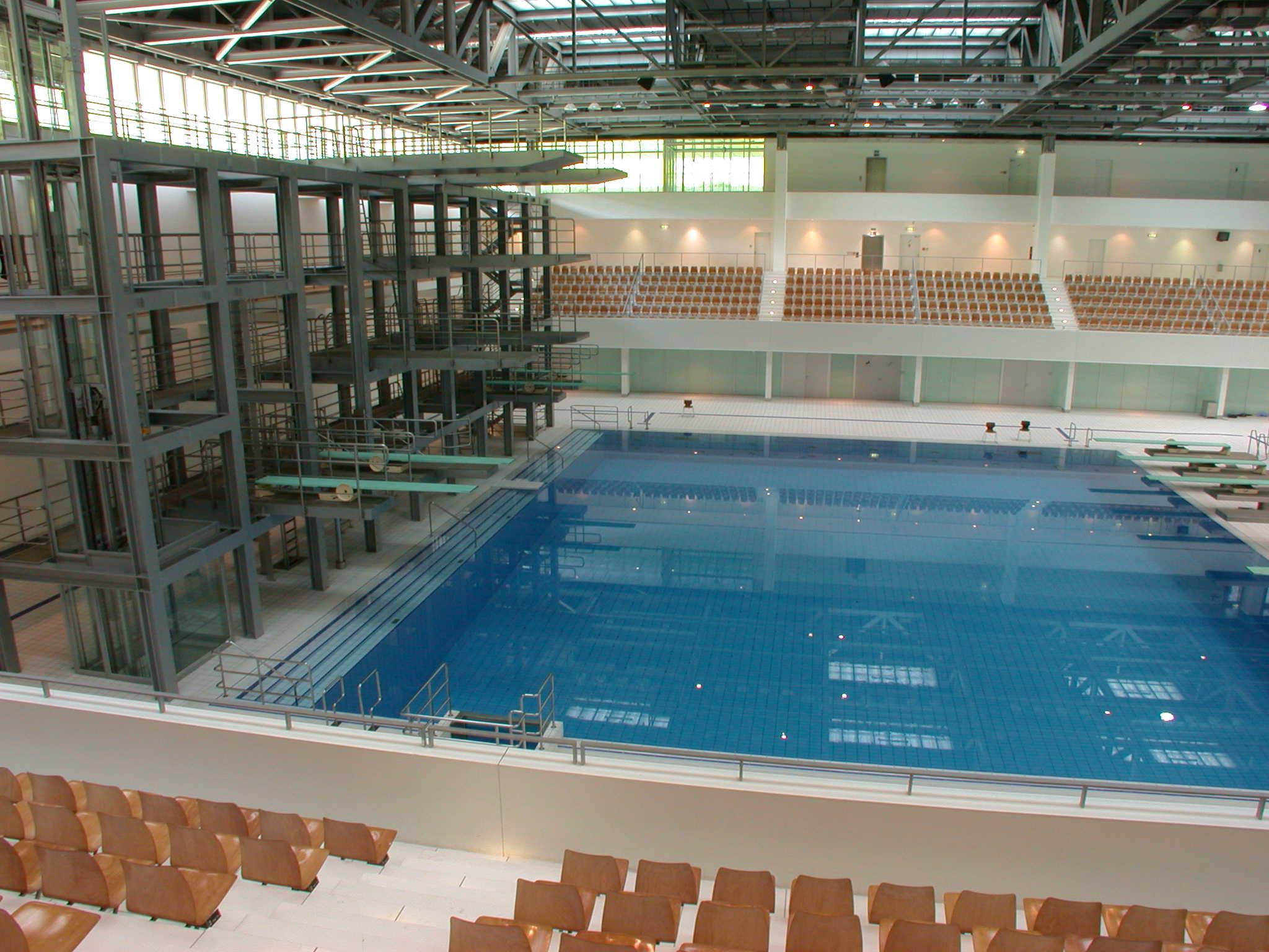 Hösbach Schwimmbad venue fina swimming cup 2017 berlin